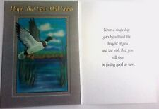 Hi-Lites by Majestic Greetings Get Well Duck Lake Sick Hospital Surgery Thought