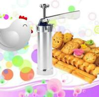 Cookie Press Pompe Machine Biscuit Maker Cake Cutter Decorating Set Plastique