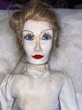 Vintage Rare Old Doll Doll Removable Clothes