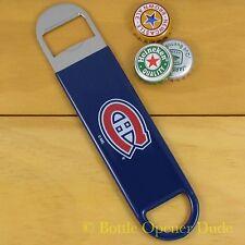 Montreal Canadiens SPEED, BAR BLADE Bottle Opener Vinyl Coated Steel NHL NEW!!