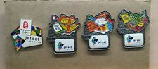 2008 BEIJING JET SET SPORT OLYMPIC 4 PIN SET