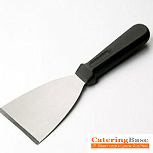 """Professional Chefset Catering Griddle Blade Scraper (Stainless Steel 4"""" Blade)"""