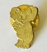 Koala Bear Australia Small Brooch Pin Badge Rare Vintage (L41)