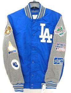 Los Angeles Dodgers Men's G-III Snap Front World Series Championship Jacket 568