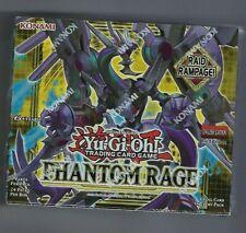 Yugioh Phantom Rage Sellado De Fábrica Booster Box 1st Edición