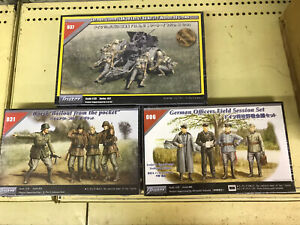 lot of 3 Tristar WWII 1:35 scale Infantry Model Kits