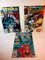 Comic Books Lot  ~ 1994 Spiderman 42,  1993 273, & # 4 Morbius 1992  ( 3 )