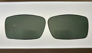 Replacement Lined BIFOCAL Lenses for Oakley GASCAN Black/Grey Polarized +2.00