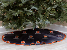 Cincinnati Bengals Christmas Tree Skirt Micro Plush Fan Gift Novelty Item NEW cw