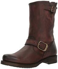 FRYE Womens Veronica Leather Closed Toe Mid-Calf Fashion, Redwood, Size 7.5 U73O