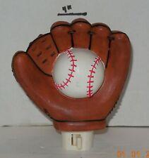 Baseball Glove and Ball Night Light