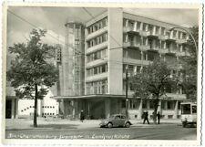 Ak Berlin Charlottenburg Suarezstr. m. Canisiuskirche VW Käfer Straßenbahn Foto