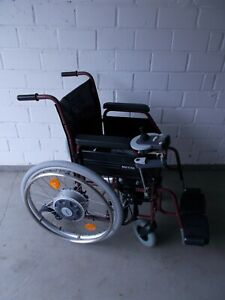 Alber E-Fix 25 Elektroantrieb Zusatzantrieb Meyra 3.600 Faltrollstuhl Rollstuhl