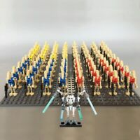 21pcs Star Wars Droid Army  Action Minifigures BattleDroid clone with guns