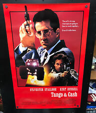 Original 1989 TANGO & CASH One Sheet 27 x 41 Movie Poster Rolled STALLONE RUSSEL