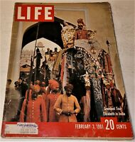 February 3, 1961 LIFE Magazine 60s Advertising ads add ad  FREE SHIPPING Feb. 2