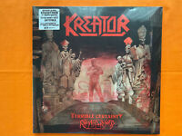 Kreator Terrible Certainty Remasted Double Vinyl LP Album New & Sealed