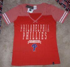 NEW MLB Philadelphia Phillies Baseball T Shirt Women Ladies M Medium NEW NWT