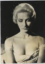 Elga Andersen Vintage silver print Tirage argentique  20x25  Circa 1957