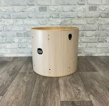 """More details for mapex mars floor tom drum shell 16""""x14"""" bare wood project / upcycle"""