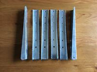 "Land Rover series 1 one  80""/86""/88""/107""/109"" seat brackets x 6"