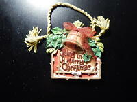 RING IN A MERRY CHRISTMAS ORNAMENT!    VV111DXX