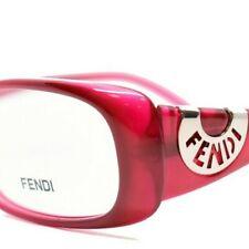 FENDI 847 604 NEW RED RX EYEGLASSES 53-16-135