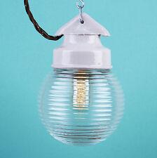 LOFT Lampe Porzellan Keramik Glaskolbenlampe Industrielampe LAMP Bauhaus CCCP __