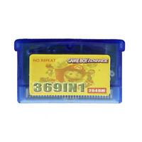 369 in 1 Game Boy Advance Cartridge Multicart for GBA GBA SP GBM NDS NDSL NDS