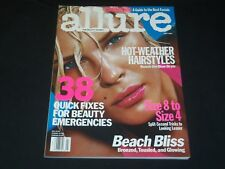 2001 JULY ALLURE MAGAZINE - ERIN WASSON - FASHION COVER - O 8187