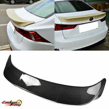 CARBON LEXUS IS250 IS300h IS200t T Look Trunk Spoiler Wing 2018