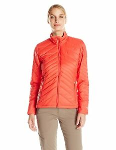 Size XL - Icebreaker Stratus L S Zip Jacket Grapefruit/Cameo/Grapefruit