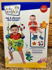 Baby Einstein Sea and Discover Door Jumper Bouncer Exerciser Brand New in Box