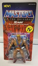 Masters of the Universe He-Man Motu figure MOC Super 7 Vintage series Heman