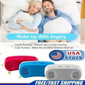 Mini Electric CPAP Nose Machine Anti Snoring Device Sleep Apnea Aid Stop Snore