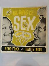 REDD FOXX/HATTIE NOEL The Battle Of Sex - DOOTO STL-836 LP - Free Shipping