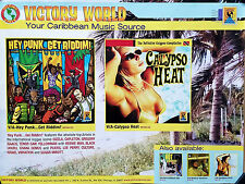 Victory World Record Label 2006 Original Reggae Promo Poster