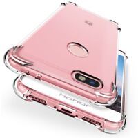 Shock Proof Clear TPU Gel Case Cover For Huawei P20 Pro Lite P smart Honor Mate