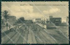 Lecce Galatina Stazione cartolina XB3537