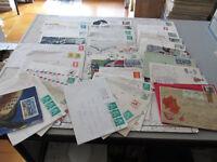 Lote Sobres Postales Viajes Europa y Otros Años 80-38 Piezas
