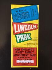 1979 Lincoln Park Amusement Park North Dartmouth, MA Brochure