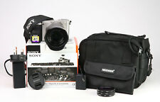 Sony A6000 Mirrorless Camera + 18-55mm Lens Kit -WiFi + 1080p HD -Only 573 Shots