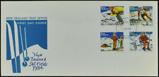 New Zealand 1984 Ski Fields, Skiing FDC First Day Cover #C52999