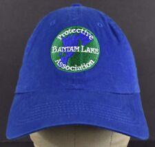 Blue Protective Bantam Lake Asc Embroidered Baseball hat cap Adjustable Strap
