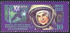 Rusia 1983 vuelo espacial/Tereshkova/Vostok 6/1st mujer cosmonauta 1 V (n11760)