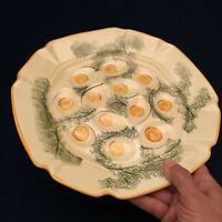 Designcraft Ceramic Deviled Egg Platter Plate 402 USA