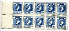 timbres 1F50 bloc de 10 timbres neufs  Marianne d'Alger