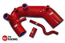 Turbo Silicone Induction Air Intake Inlet Hose For Audi A4 Passat B6 1.8T Red