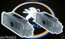 Led Plug&Play Einstiegsbeleuchtung PEUGEOT 206 Prejektor Laser Logo Beleuchtung