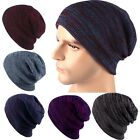 Hot! Unisex Winter Ski Knitted Crochet Baggy Women Men Warm Beanie Hat Cap Beret